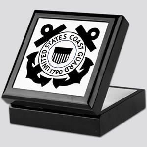 USCG-Logo-2-Black.g... Keepsake Box
