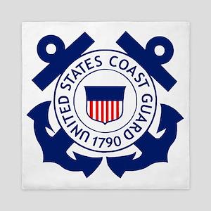 USCG-Logo-2-Blue.gi... Queen Duvet