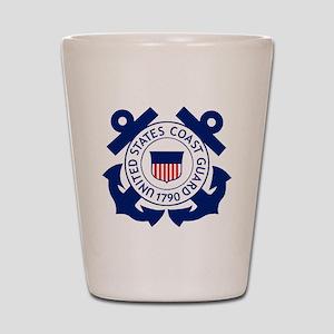 USCG-Logo-2-Blue.gi... Shot Glass