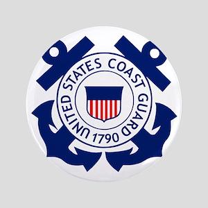 "USCG-Logo-2-Blue.gi... 3.5"" Button"