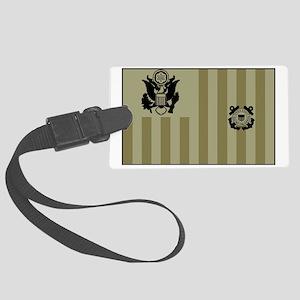 USCG-Ensign-Flag-Su... Large Luggage Tag
