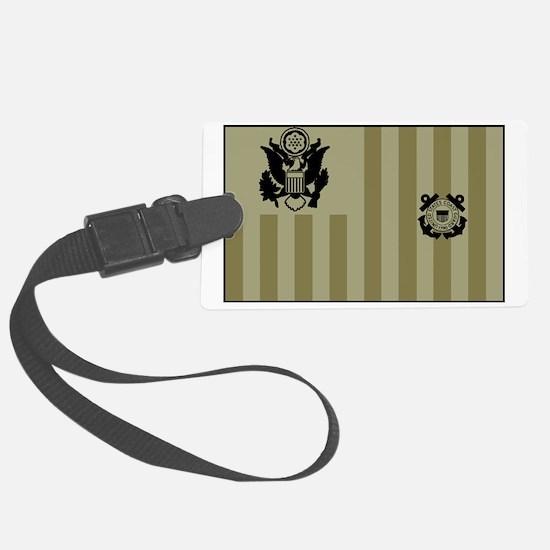 USCG-Ensign-Flag-Su... Luggage Tag