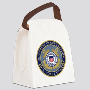 USCG-Defenders-Of-F... Canvas Lunch Bag
