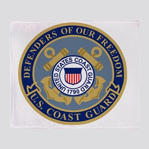 USCG-Defenders-Of-F... Throw Blanket