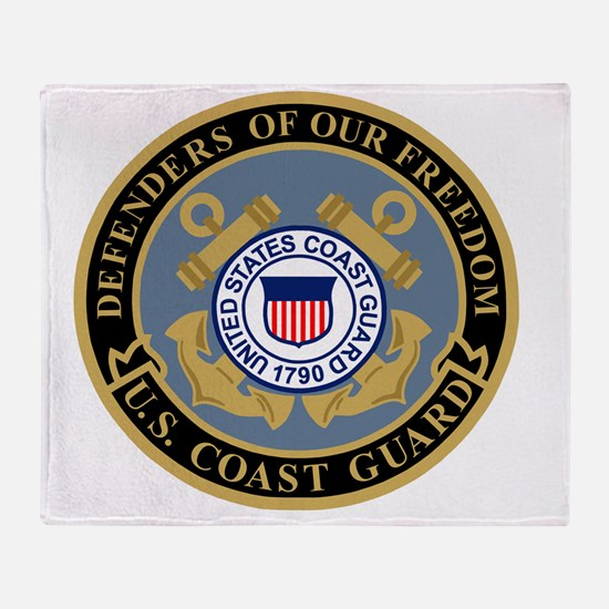 USCG-Defenders-Of-F... Throw Blanket