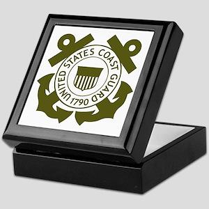 USCG-Logo-2-Avocado... Keepsake Box