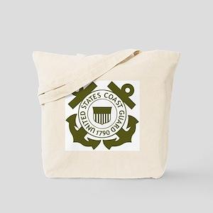 USCG-Logo-2-Avocado... Tote Bag