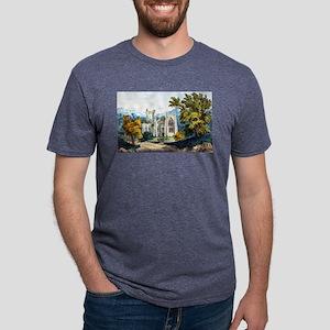 Melrose Abbey - 1907 Mens Tri-blend T-Shirt