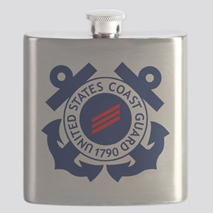 USCG-FN-Badge-X Flask