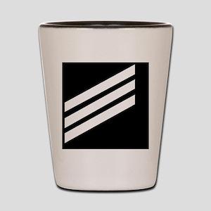 USCG-SN-Black-Cap Shot Glass