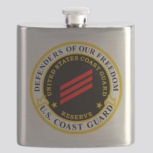 USCGR-FN-Badge-Black Flask