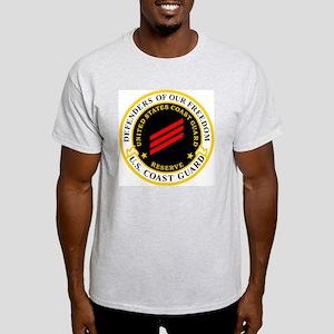 USCGR-FN-Badge-Black Light T-Shirt