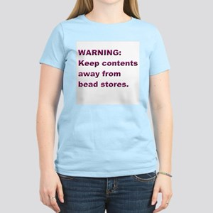 "Pastel ""Warning"" Women's Tee"