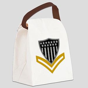 USCG-PO2-Black-Shirt-2 Canvas Lunch Bag