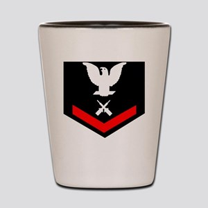 USCG-GM3-Black-Shirt Shot Glass