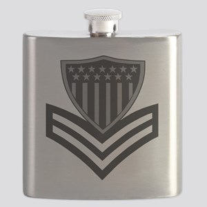 USCG-PO1-Pin-Subdued-X Flask