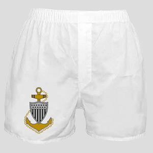 Delete-USCG-CPO-Pin-Squared-X Boxer Shorts