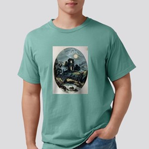 Moonlight - the castle - 1907 Mens Comfort Colors