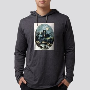 Moonlight - the castle - 1907 Mens Hooded Shirt