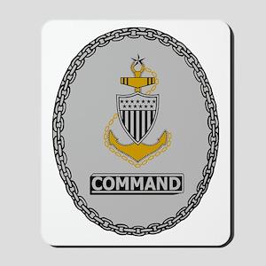 USCG-SCPO-Command-Badge Mousepad