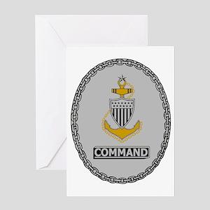 USCG-SCPO-Command-Badge Greeting Card