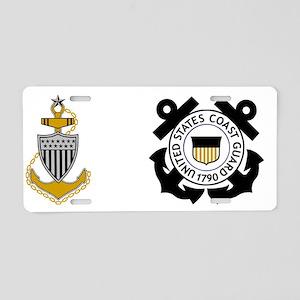 USCG-SCPO-Mug-Y Aluminum License Plate