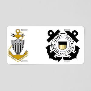 USCG-MCPO-Mug-2 Aluminum License Plate