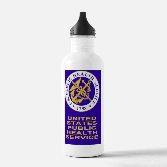 USPHS-Sticker-Y.gif Water Bottle