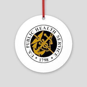 USPHS-Logo-For-Stripes Round Ornament