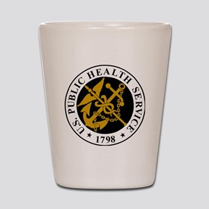 USPHS-Logo-For-Stripes Shot Glass