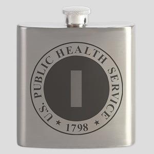 USPHS-LTJG-Cap-Khaki Flask