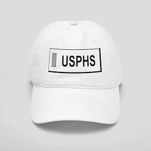 USPHS-LTJG-Nametag-White Cap