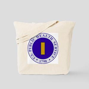 USPHS-Ens-Cap-White Tote Bag