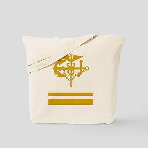 USPHS-LTJG-Black-Shirt Tote Bag