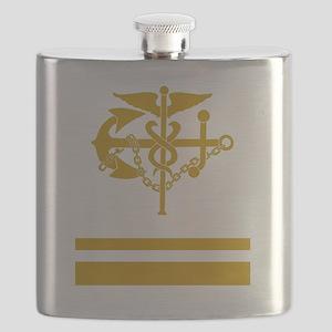 USPHS-LTJG-Black-Shirt Flask