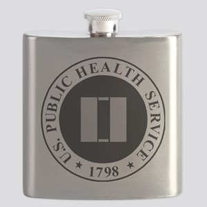 USPHS-LT-Khaki-Cap Flask