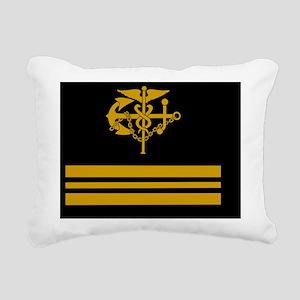 USPHS-LCDR-Button Rectangular Canvas Pillow