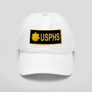 USPHS-LCDR-Nametag-Black-X Cap
