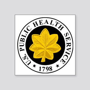 "USPHS-LCDR-Cap Square Sticker 3"" x 3"""
