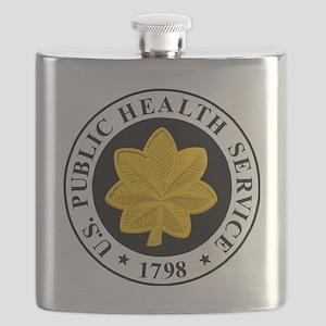 USPHS-LCDR-Cap Flask