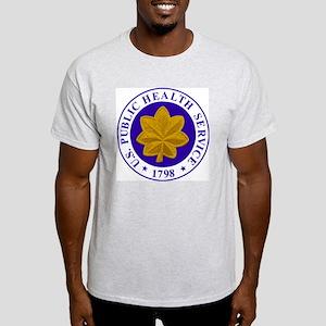 USPHS-LCDR-Cap-2 Light T-Shirt