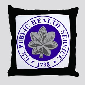 USPHS-CDR-Cap-2 Throw Pillow