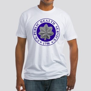 USPHS-CDR-Cap-2 Fitted T-Shirt