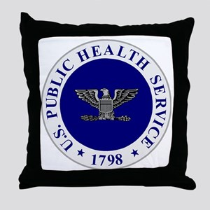 USPHS-CAPT Throw Pillow