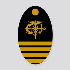 USPHS-CAPT-Board Oval Car Magnet