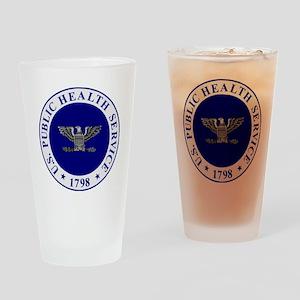 USPHS-CAPT-White-Cap Drinking Glass