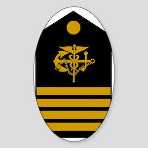USPHS-CAPT-Board Sticker (Oval)