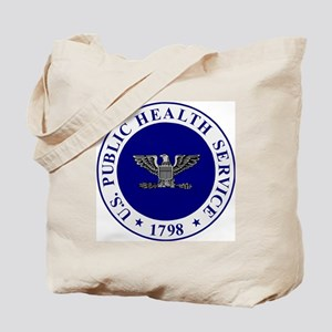 USPHS-CAPT-White-Cap Tote Bag