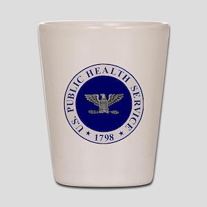USPHS-CAPT-White-Cap Shot Glass