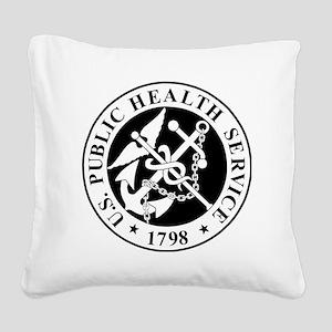 USPHS-Messenger-X Square Canvas Pillow
